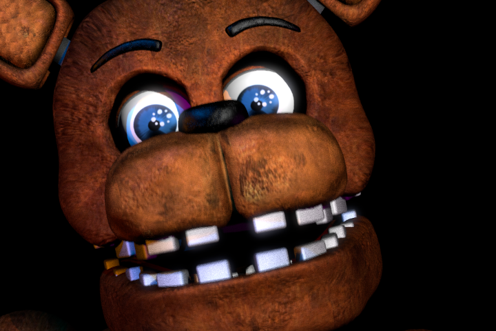 Ammco bus : Withered freddy jumpscare