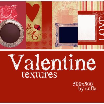 Valentine textures by Cufla