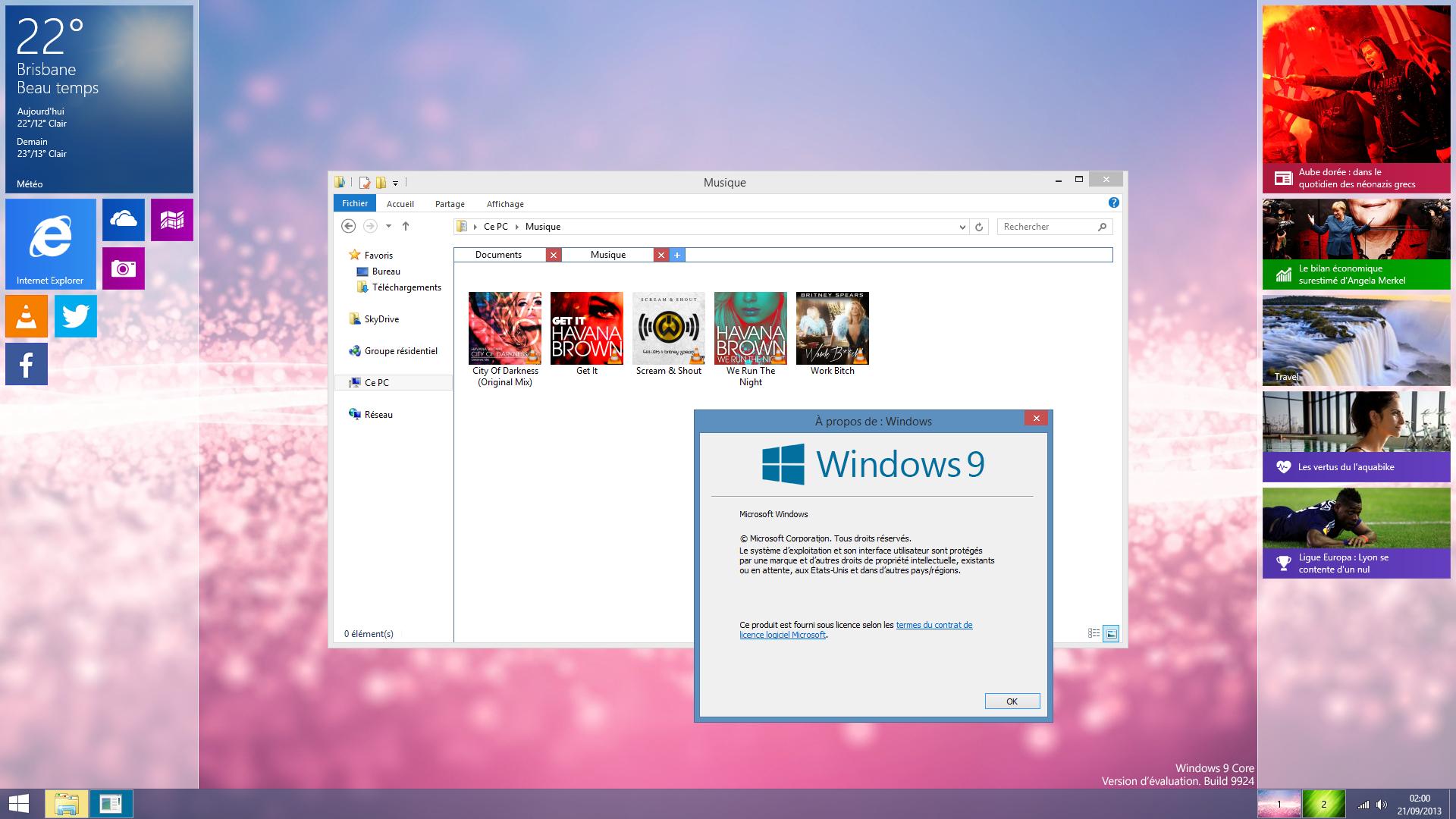 [Design] Windows 9 Core