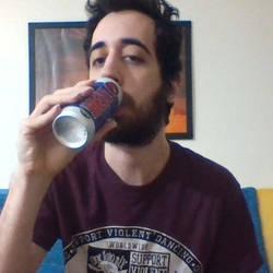 Drinking Hell by wizfrikiman