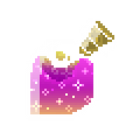 Pixel Bottle Gif (Pink and Yellow) [F2U] by wrathberries