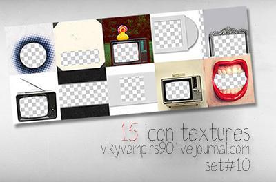 set 10 by vikyvampirs90 - Texture K��esi