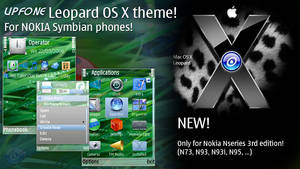 Upfone Leopard Theme for 3RD