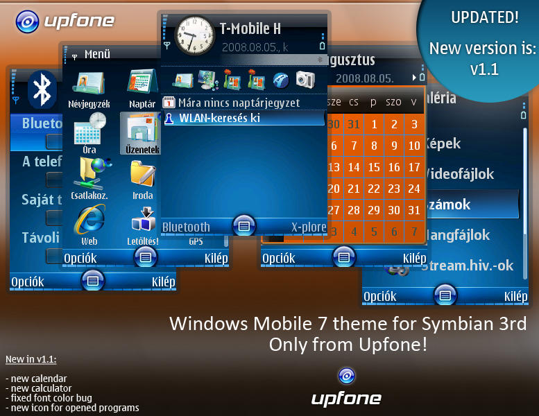 t mobile naptár Windows Mobile 7 theme by brthtms on DeviantArt t mobile naptár