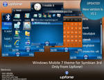 Windows Mobile 7 theme