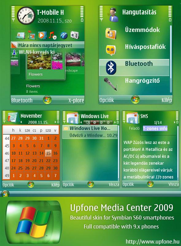 Upfone Media Center 2009 by brthtms