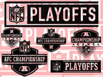 NFL Playoff Brush Pack