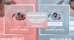 TEMPLATE 007 by Chlorine.psd