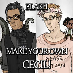 Make Your Own Cecil! Flash Game