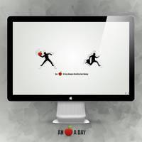 An Apple A Day .... by g0rg0d