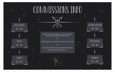 Commissions! [Banner Slots OPEN]
