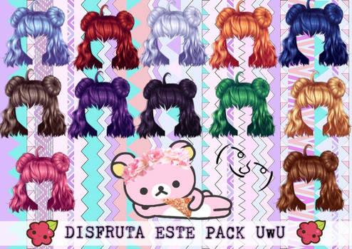 [~CDM~] Pack de peluca editada :v