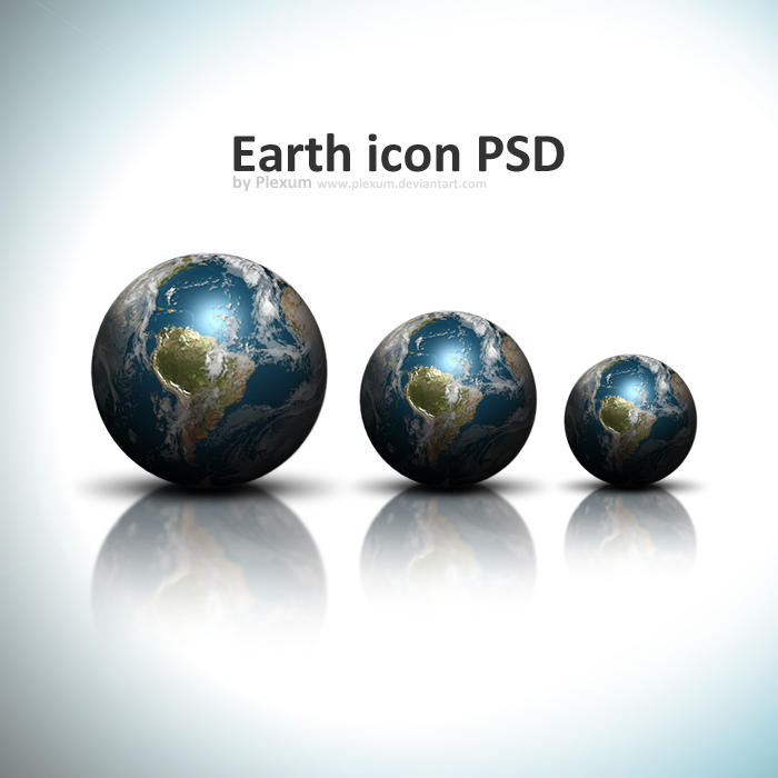 Earth Icon by Plexum