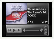 Itunes Toolbar 2 for Rainmeter by Taichou-Henk