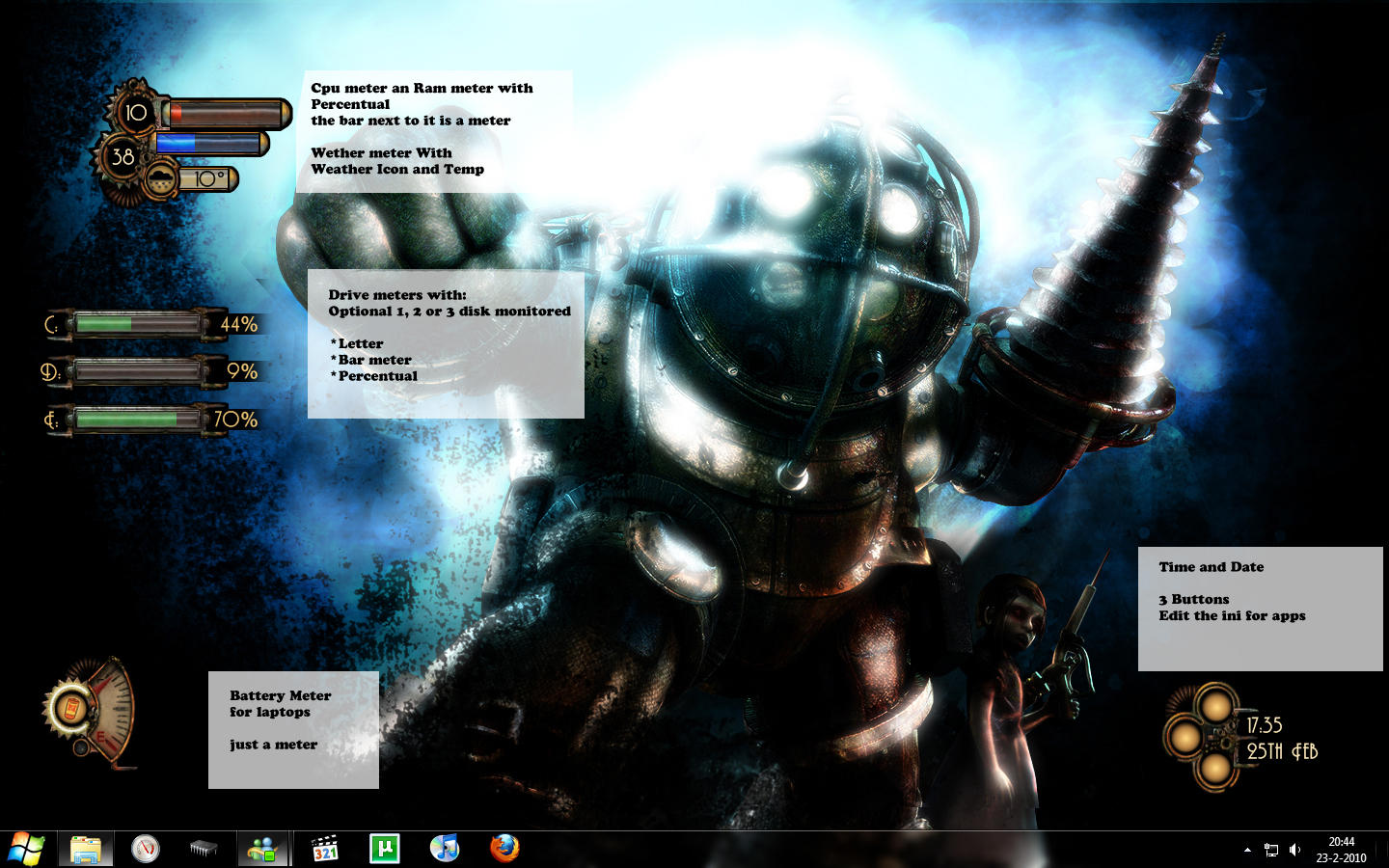 Bioshocking Skins by Taichou-Henk