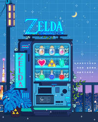 Zelda Vending Machine