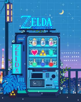 Zelda Vending Machine