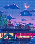 Konohagakure by SeerLight