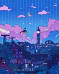 Kiki's Night Flight
