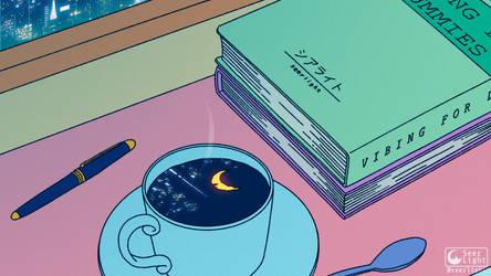 Coffee Study Desk