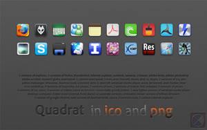 Quadrat icons by warulez