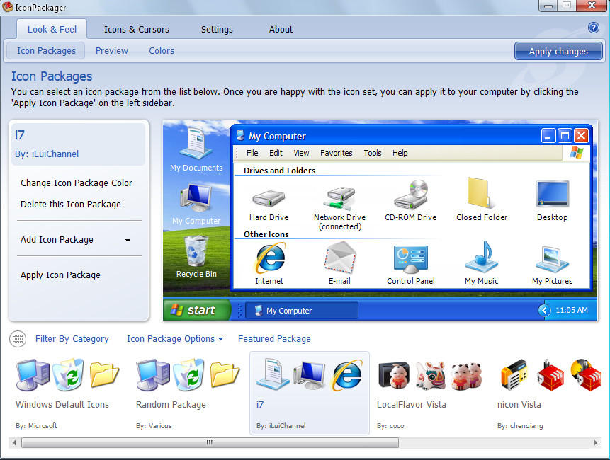 icon  for windows xp