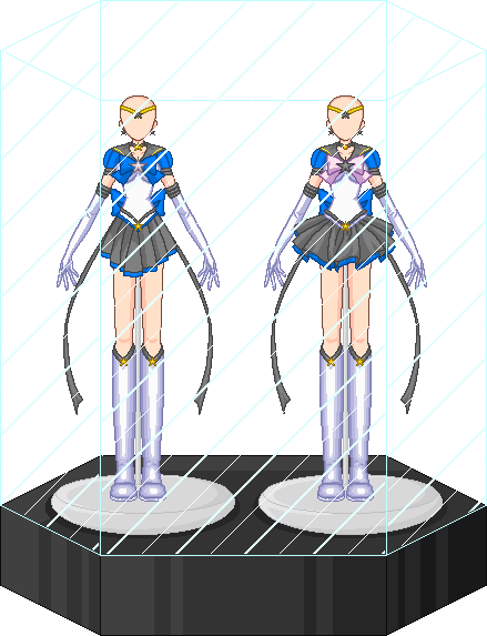 Eternal Sailor Scout outfit set by Shiron-the-Windragon