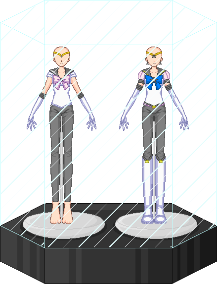 Male Sailor Scout Set by Shiron-the-Windragon