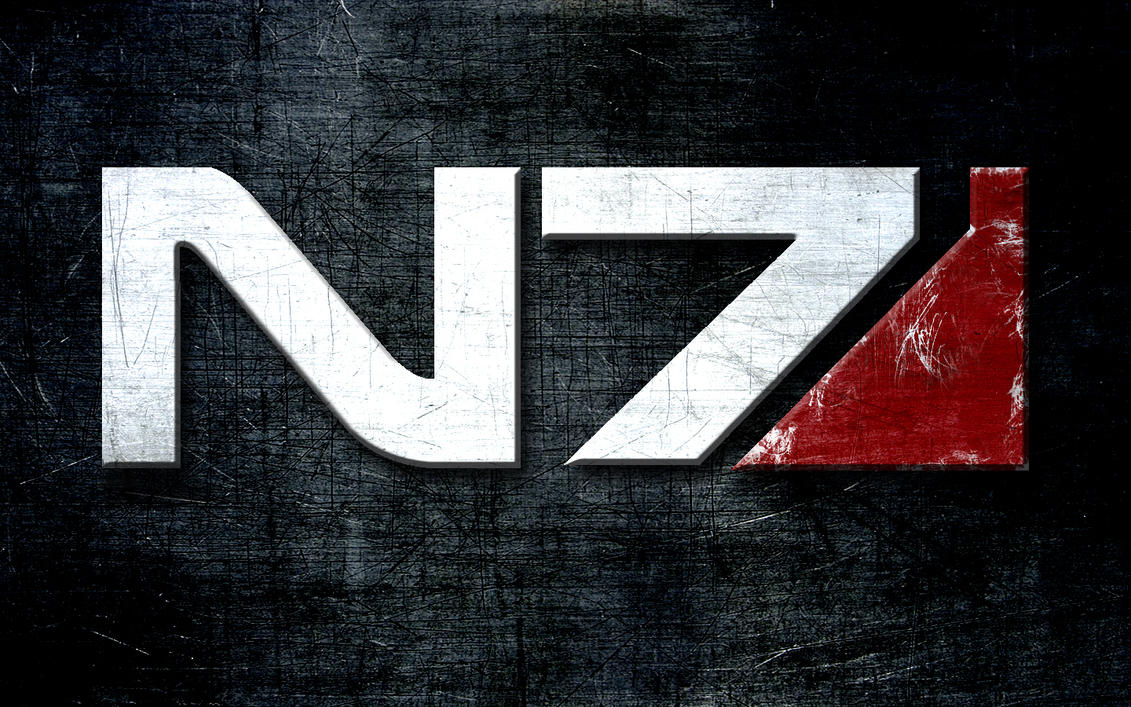 Mass Effect N7 Wallpaper by FoamyAle