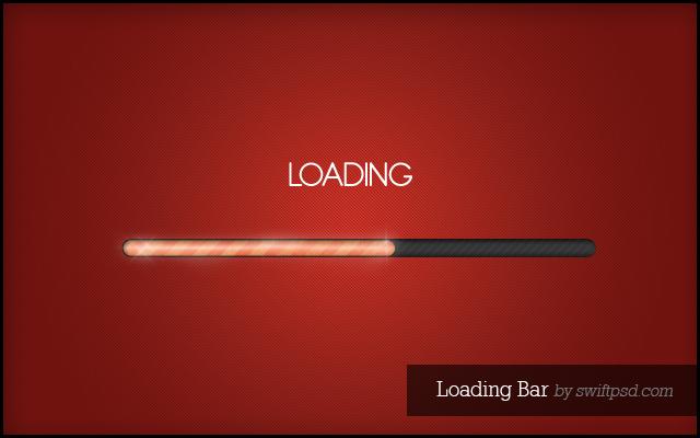 Loading Bar  - PSD -