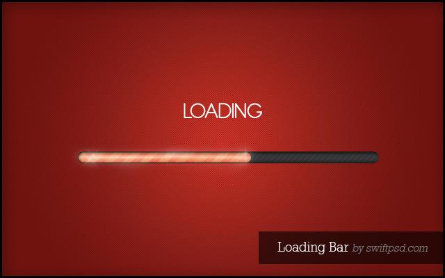 Loading Bar  - PSD - by swiftpsd