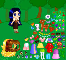 Little Forest Dress Up Game by Princess-Peachie