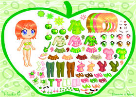 Appiie Dress Up Game by Princess-Peachie