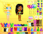Birthday Party Dress Up Game