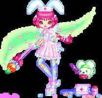 Magical Nurse Witch Komugi by Princess-Peachie