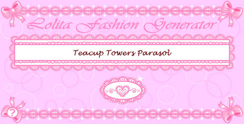 Lolita Fashion Generator by Princess-Peachie