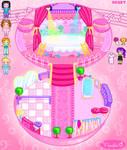 Ballerina Girl Playset