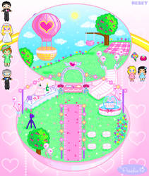 Wedding Girl Playset by Princess-Peachie
