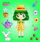 Spring Florist Doll