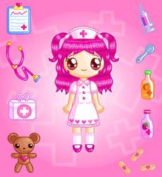 Rose Nurse Doll by Princess-Peachie