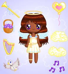 Bright Angel Doll by Princess-Peachie