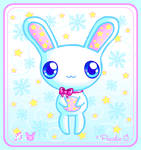 Snow Bunny -Christmas e-Card-