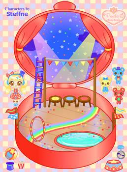 Steffne's Circus Playset by Princess-Peachie