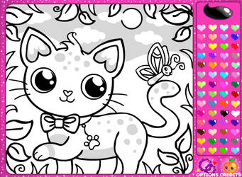 Girl's Colouring Book Game