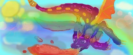 Spyro rainbow by SHADOWingU