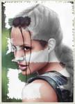 Lara Croft AJ portrait making by redfill