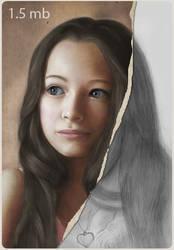 Jodelle Ferland creation by redfill
