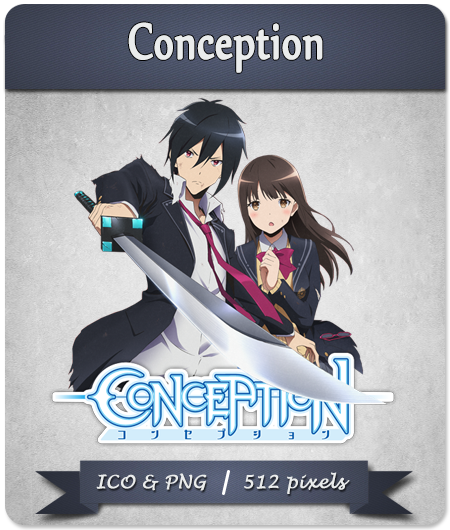 Conception Anime Icon Windows By Isleeve On Deviantart