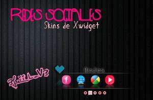 Xwidget Redes Sociales By 3Lxii LoV3 by 3LxiiLov3