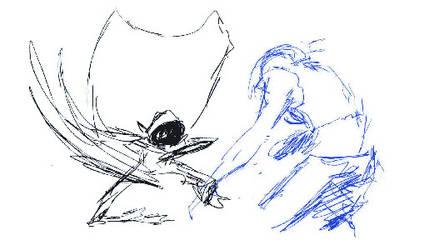 2D Animation sketch